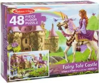 Melissa & Doug Floor Puzzle Fairy tale Castle