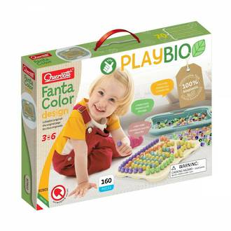 Quercetti Fanta Colour Playbio - Design 160pc