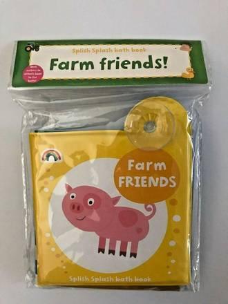 Bath Book Farm Friends