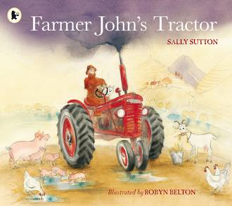 Farmer John's Tractor (board book)