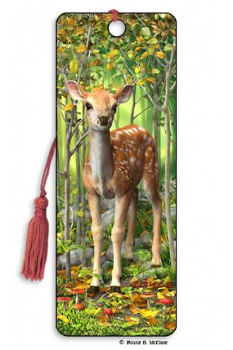 3D Bookmark - Fawn