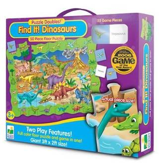 The Learning Journey Floor Puzzle Find It Dinosaurs