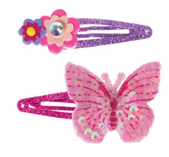 Fit And Flutter Hairclips