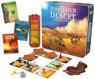 Forbidden Desert Thirst For Survival