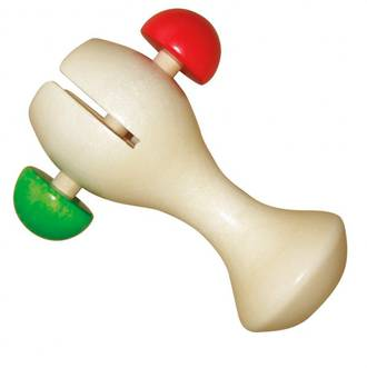 Gepetto Cup Rattle Peg Ball Natural