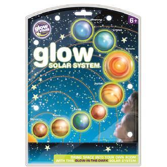 Glow 3D Solar System
