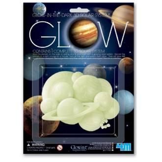 Glow In The Dark, 3D Solar System