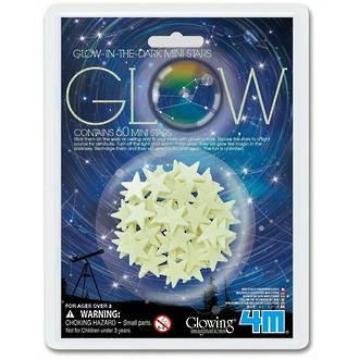 Glow In The Dark Mini Stars