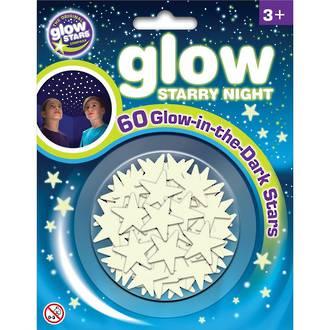 Glow Stars Starry Night 60pc