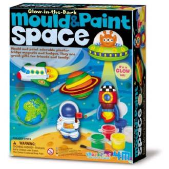 4M Mould & Paint Glow in the Dark Space