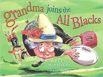 Grandma Joins the All Blacks