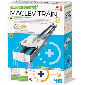 Green Science Maglev Train