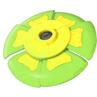 Slider Disc Green & Yellow