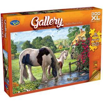 Gallery Hadlow Mare & Foal 300XL Puzzle
