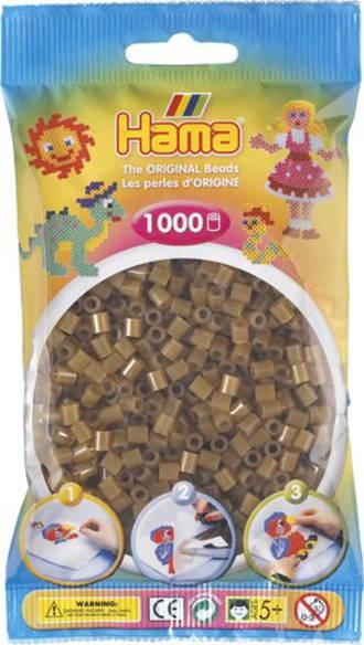 Hama Beads 1000  Translucent Brown H207-25
