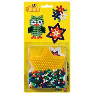 Hama Blister Kit Small Star 450 Beads H4163