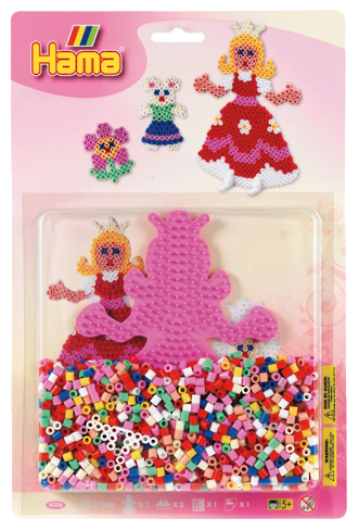 Hama Blister Pack Princess 1100 Beads H-4056