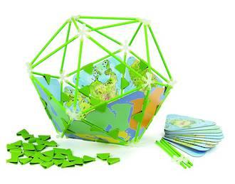 Hape Architetrix Globe Set