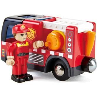 Hape Fire Truck With Siren