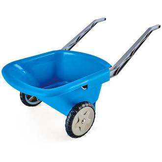 Hape Kids Beach Wheelbarrow Blue