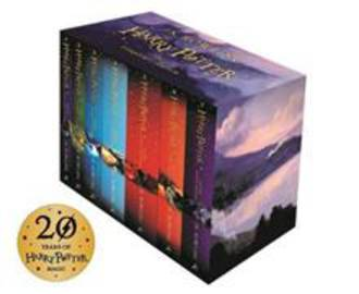 Harry Potter Box Set The Complete Collection (Children's Paperback)