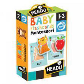Headu Flashcards Baby Montessori