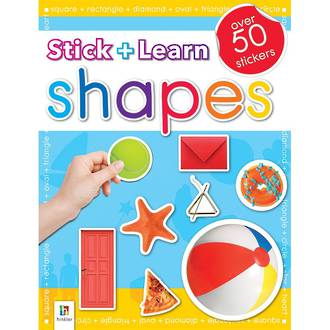 Hinkler Stick and Learn Shapes