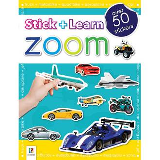 Hinkler Stick and Learn Zoom