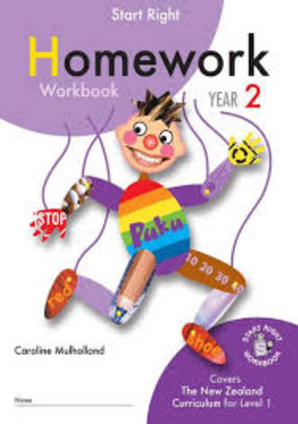 Year 2 Homework Start Right Workbook