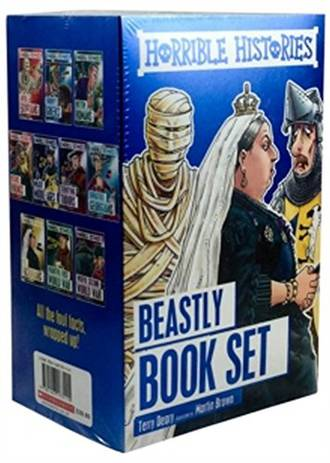 Horrible Histories - Beastly 10-Book Set