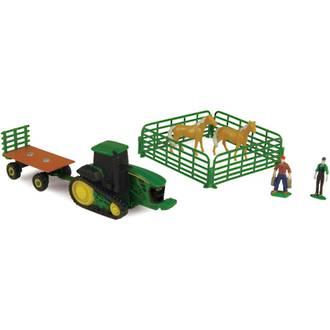 John Deere 10 Piece Farm Set -  Horses