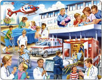 Larsen Tray Puzzle Hospital