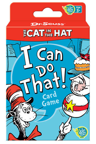"""Cat in the Hat """"I Can Do That!"""" Card Game"""