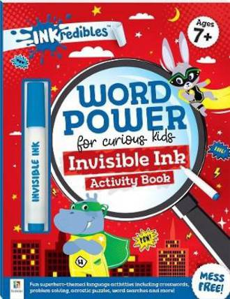 Inkredibles - Word Power Invisible Ink Activity Book