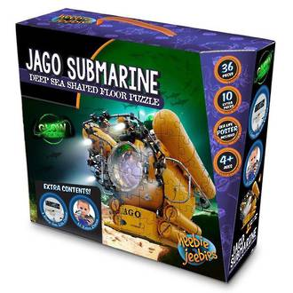Jago Submarine Deep Sea Shaped Floor Puzzle