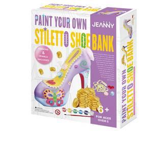 Jeanny Ceramic Shoe Money Box