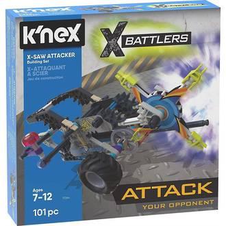K'nex X Battlers X-Saw Attacker Set