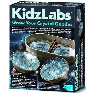 Kidz Labs Grow Your Crystal Geodes Kit
