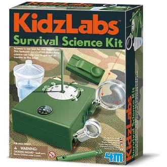 4M KidzLabs Survival Science Kit