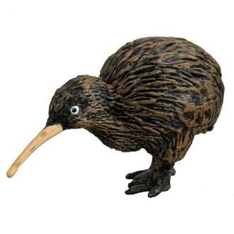 New Zealand Wildlife figures Kiwi