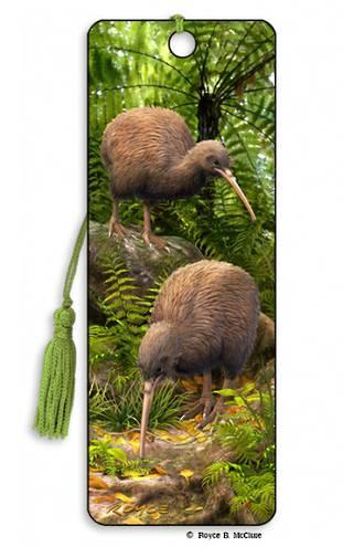 3D Bookmark - Kiwi