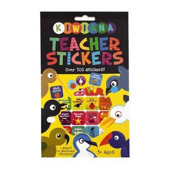 Kiwiana Teacher sticker book