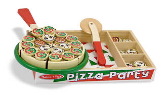 Melissa & Doug Pizza Party Set