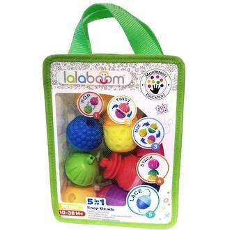 Lalaboom Snap Beads (28pc)
