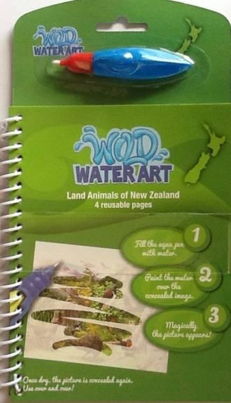 Wild Water Art Land Animals