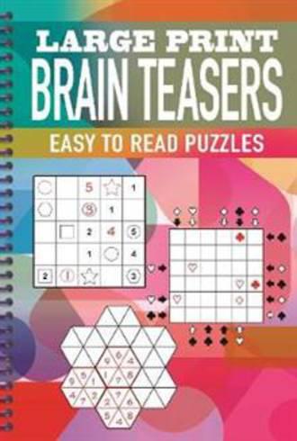 Large Print Brain Teasers