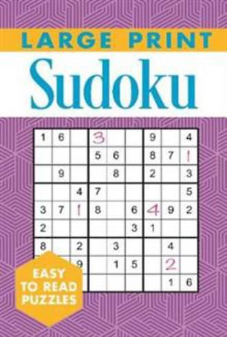 Large Print Sudoku