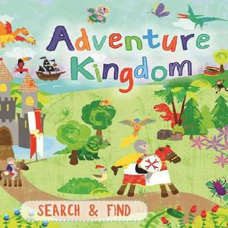 Large Search & Find bk Adventure Kingdom