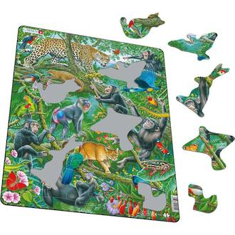 Larsen Maxi Puzzle African Rainforest (32pc)