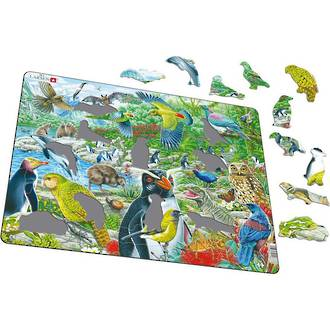 Larsen Tray Puzzle - NZ Wildlife